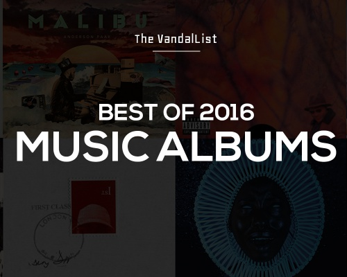Best of 2016 | Music Albums
