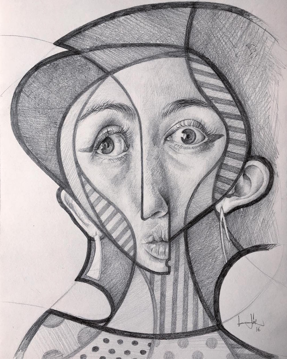 Cubism x realism in BELIN works of art