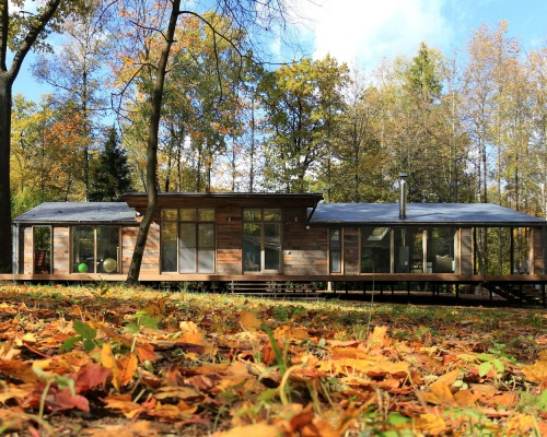 Modular house in Russia – by BIO-architects