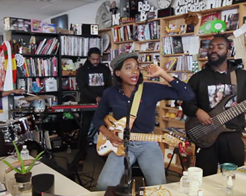 LITTLE SIMZ FOR NPR'S TINY DESK CONCERT