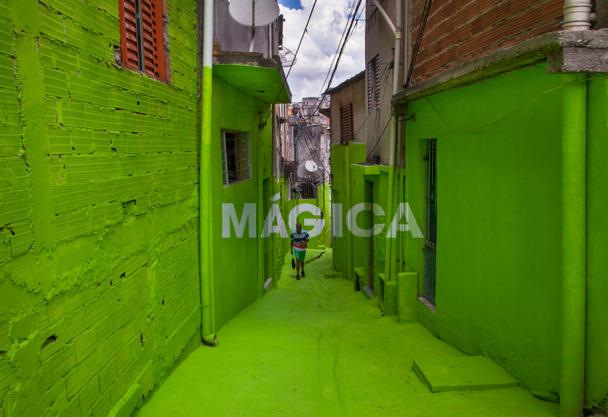 """Poesia Magica"" by Boa Mistura in São Paulo"
