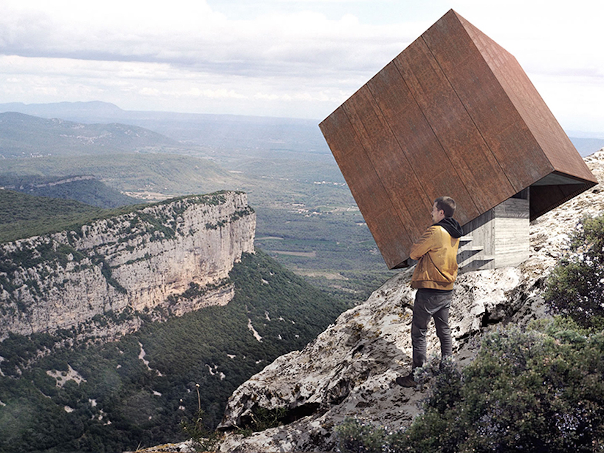 Living on the edge in Montpellier Mountains - by Cristophe Benichou