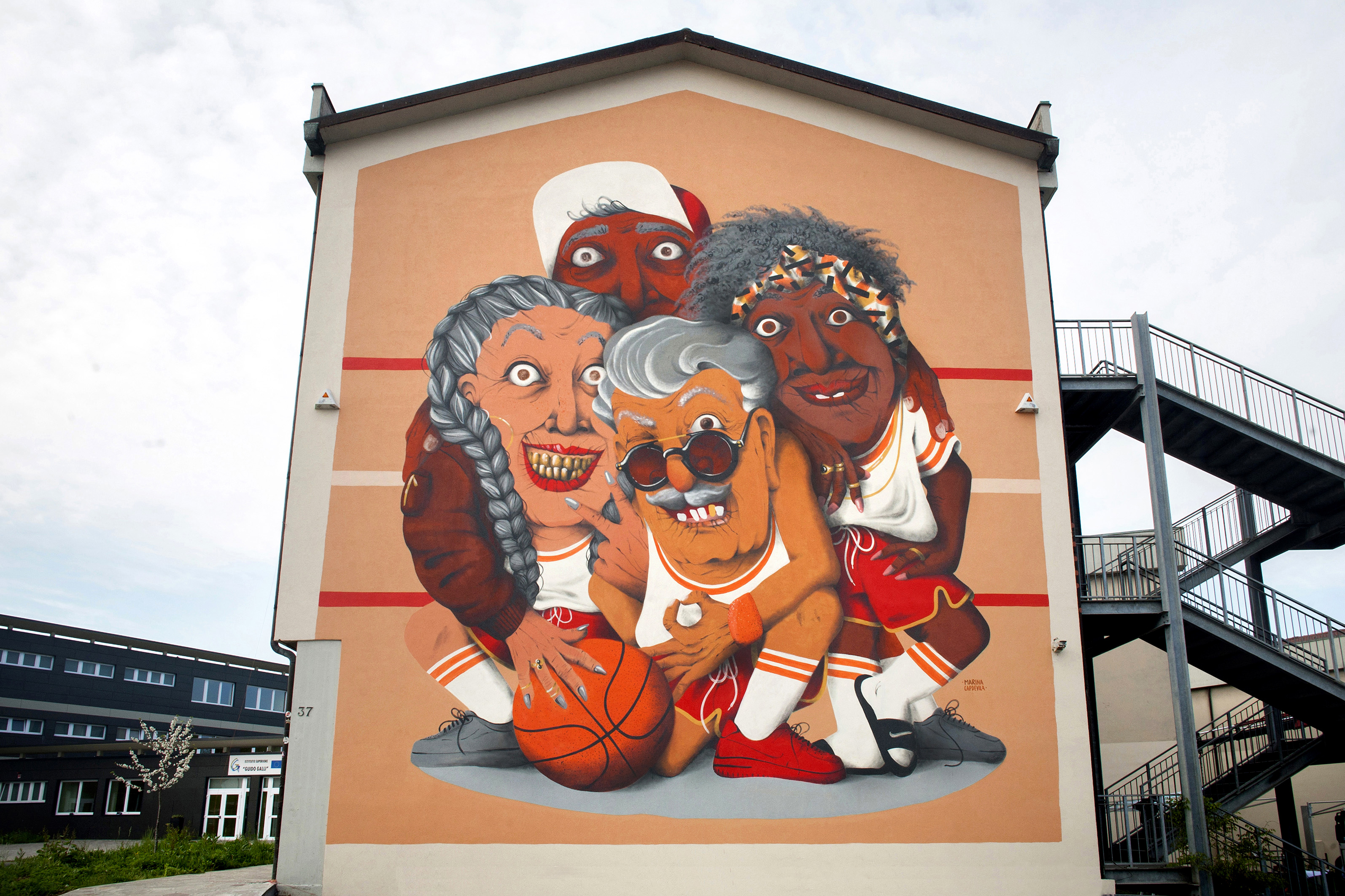 """ALL IN ALL WIN"" by Marina Capdevila in Bergamo, Italy - the vandallist (1)"