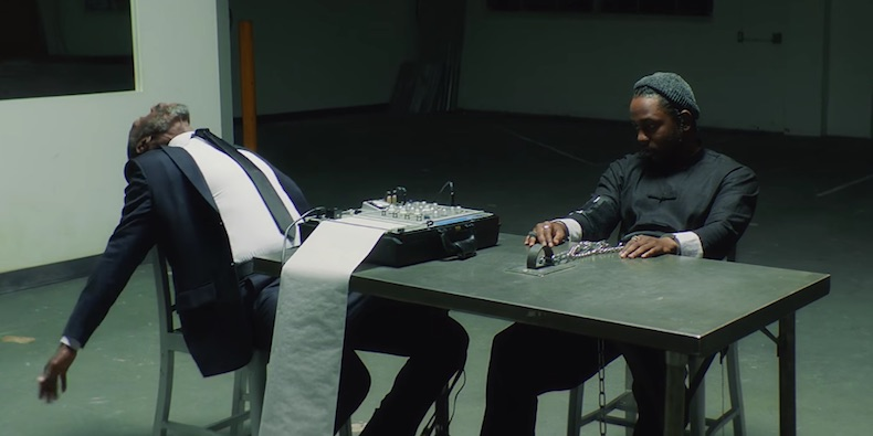 Kendrick Lamar DNA. Music Video - the vandallist (1)