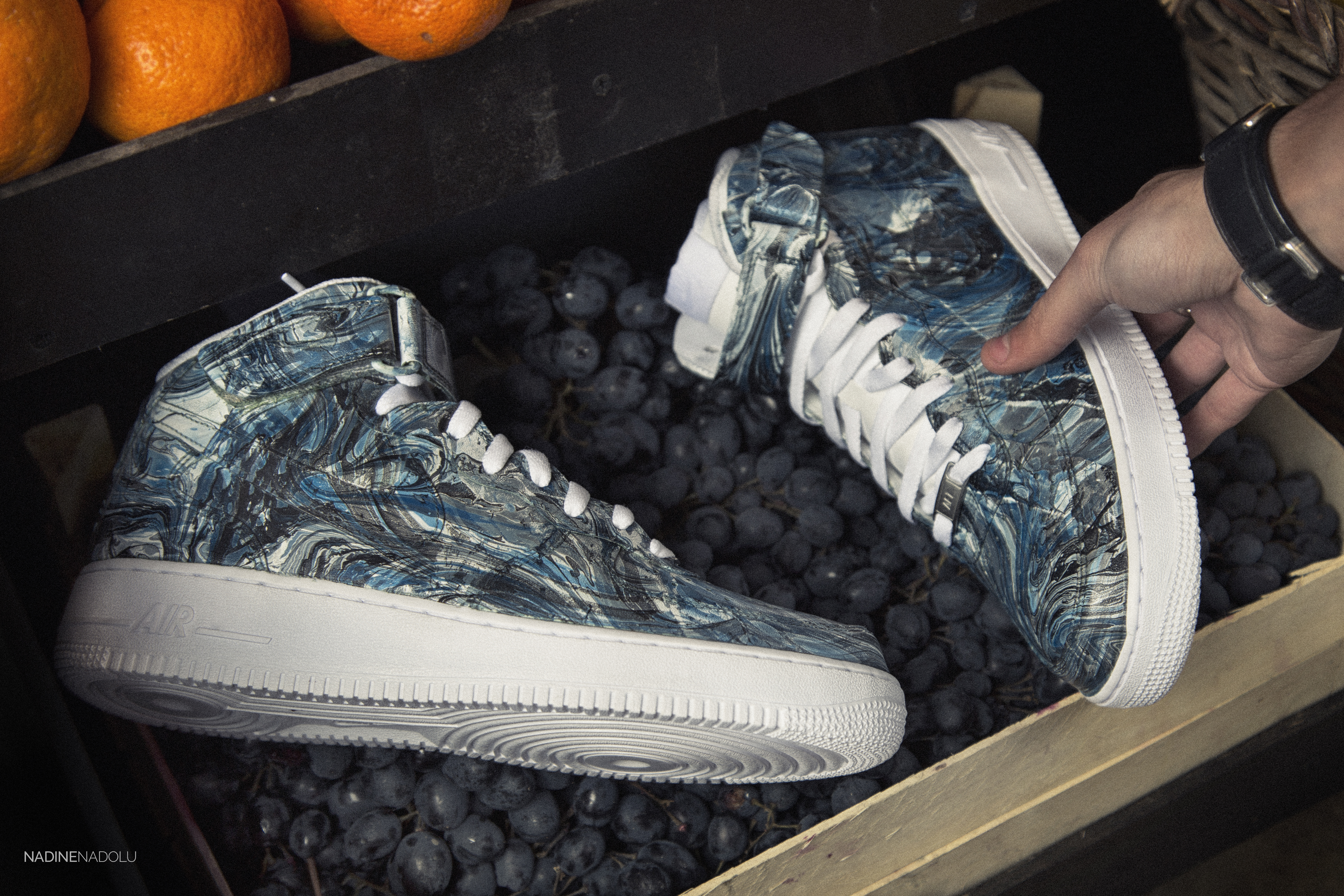 "Nike Air Force 1 Mid ""Marbled"" Pack"
