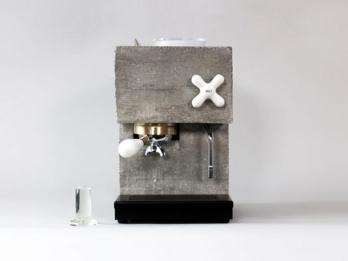 Concrete espresso machine - by Montaag