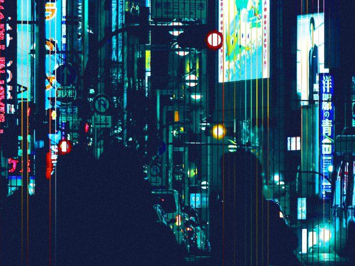 Animated Neon Images of Tokyo by RETOKA - the vandallist (1)