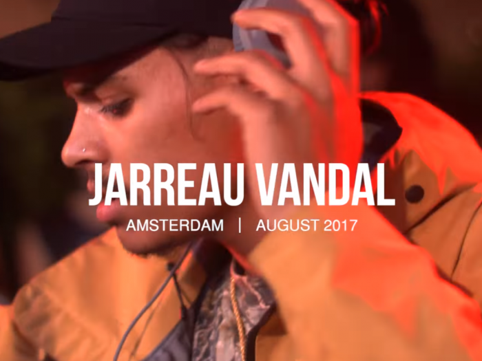jarreau vandal boiler room amsterdam