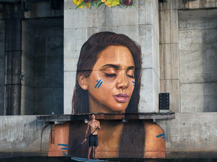 hula - mural - the vandallist