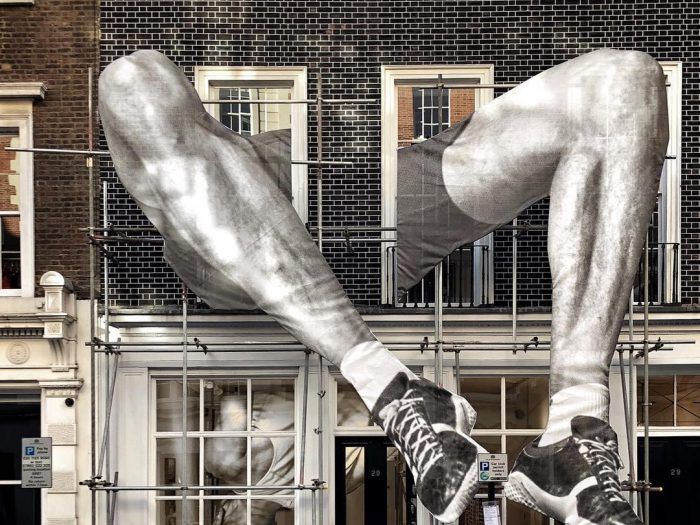 "JR's ""GIANTS"" Solo Show in London's Lazinc Gallery - the vandallist (1)"