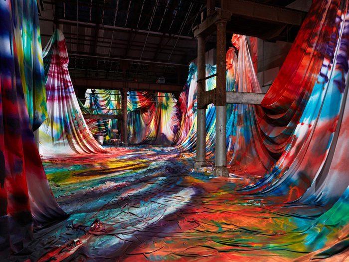 Kaleidoscopic Painting by Katharina Grosse - the vandallist (5)