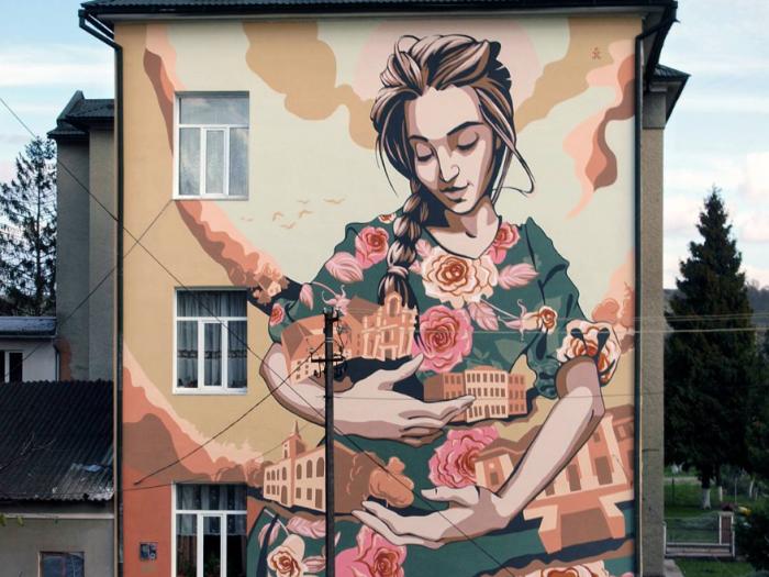 Yuriy Pitchuk, street artist - the vandallist