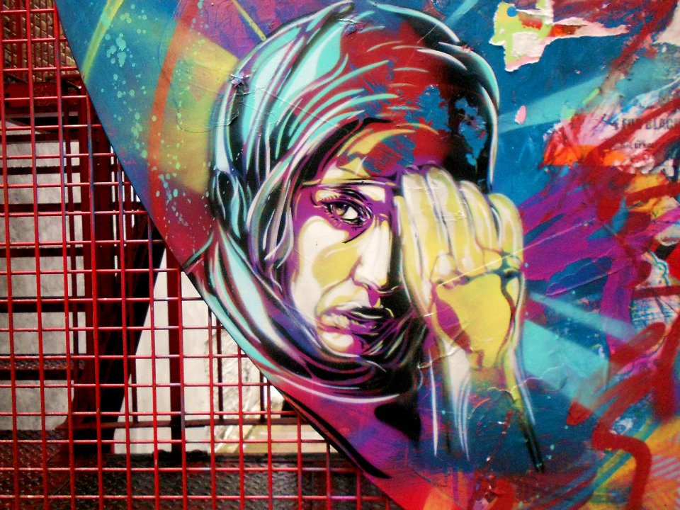 About Us Icon >> C215, street artist