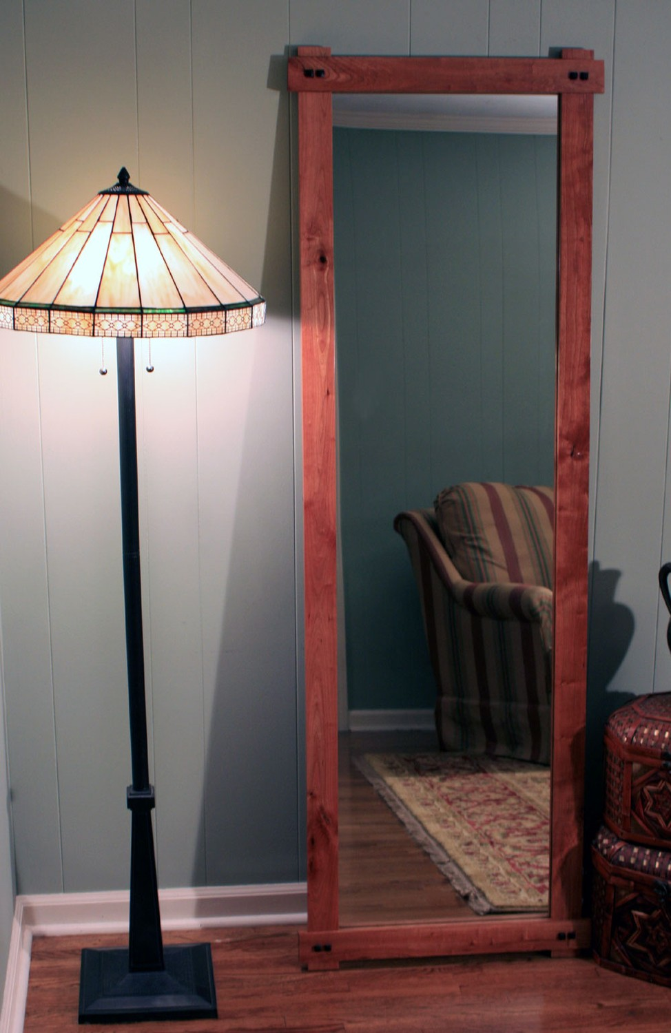 2013 Rustic Cherry Full Length Floor Mirror