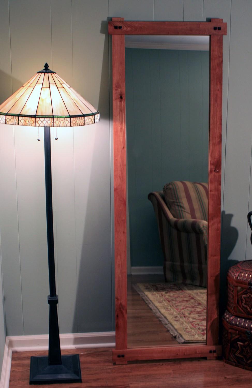 Wall mirrors long