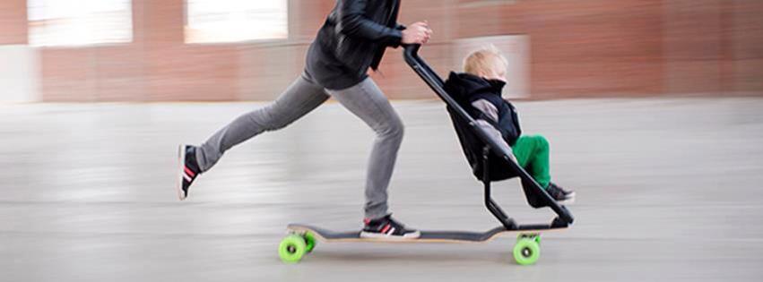 Pauli Longboard Cruiser DROP THROUGH LONGBOARD Mini skate board enfants Drop St