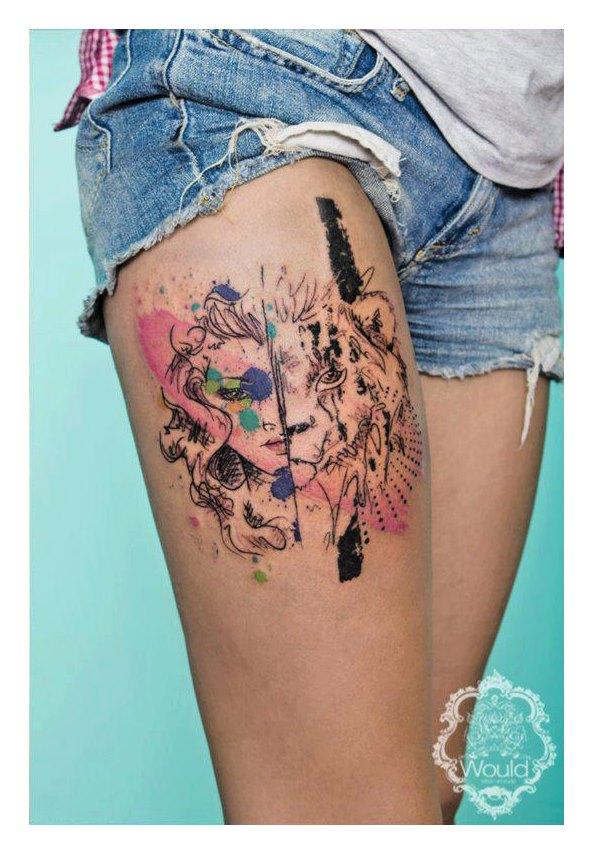 makeup artist tattoo ideas - photo #43