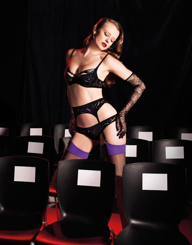 "Agent Provocateur ""Control Yourself"" Fall/Winter 2013 Campaign"