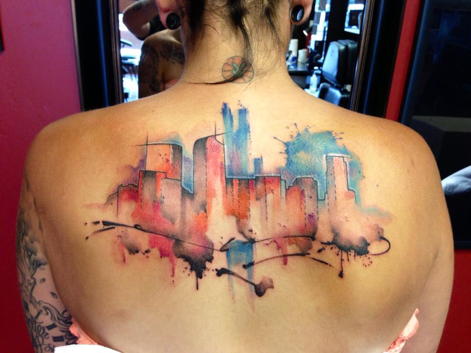 Justin nordine tattoo artist the vandallist for Tattoo artist denver
