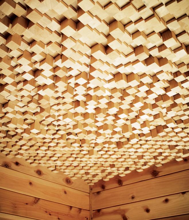 Hollywood Cabin Wood Ceiling The VandalList