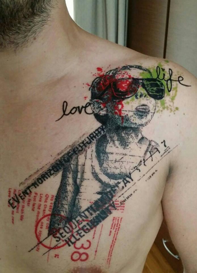 3e1fea540 Paul Talbot, tattoo artist