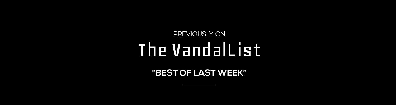 best of last week