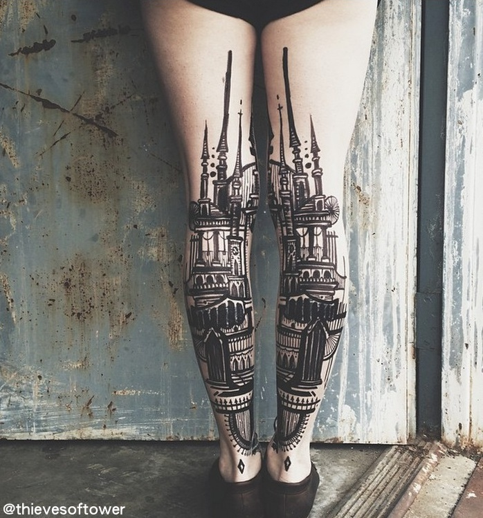Thieves of Tower, tattoo artists - Vlist (6)