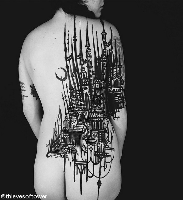 Thieves of Tower, tattoo artists - Vlist (7)