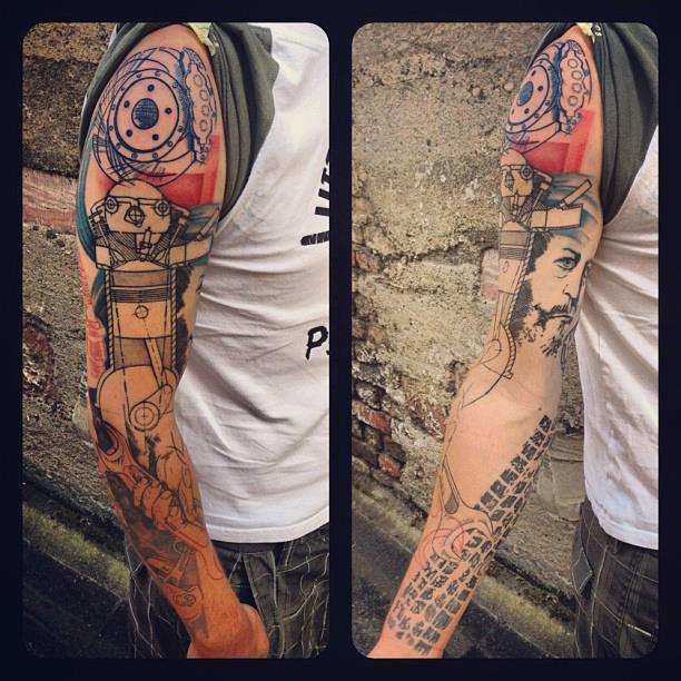 Melanie, Inky & Stretchy Tattoo (1)