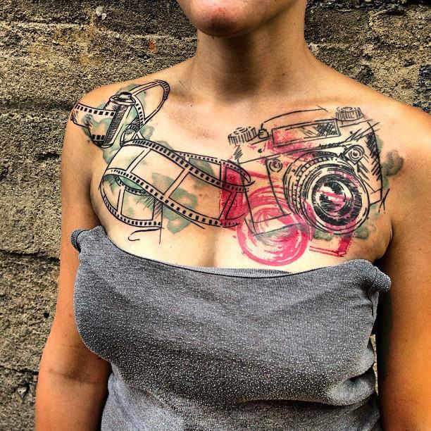 Melanie, Inky & Stretchy Tattoo (21)