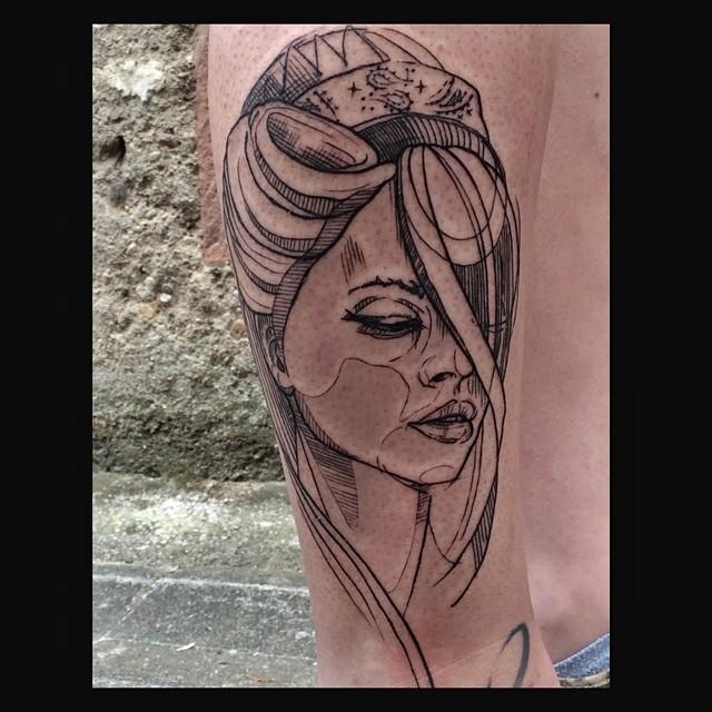 Melanie, Inky & Stretchy Tattoo (25)