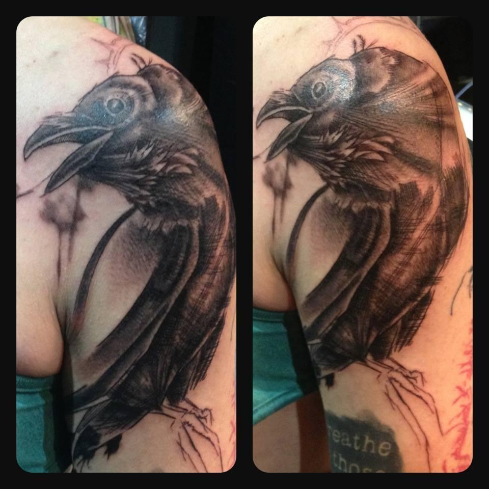 Melanie, Inky & Stretchy Tattoo (4)
