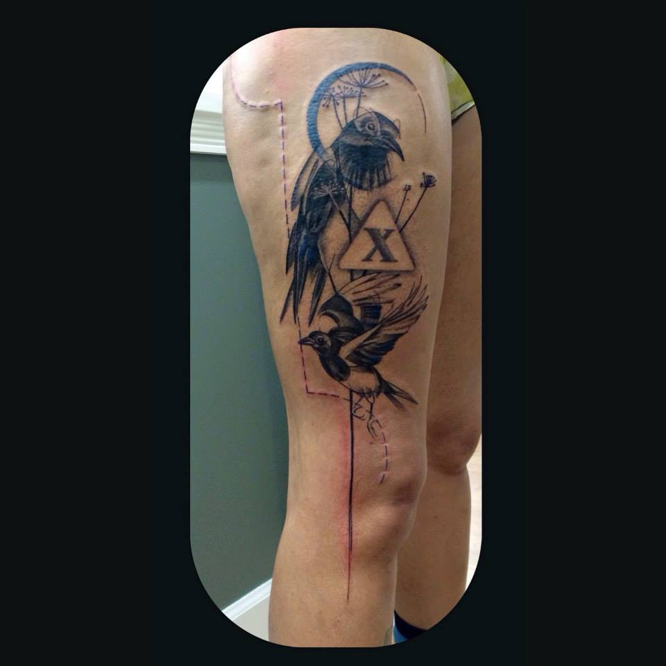 Melanie, Inky & Stretchy Tattoo (5)