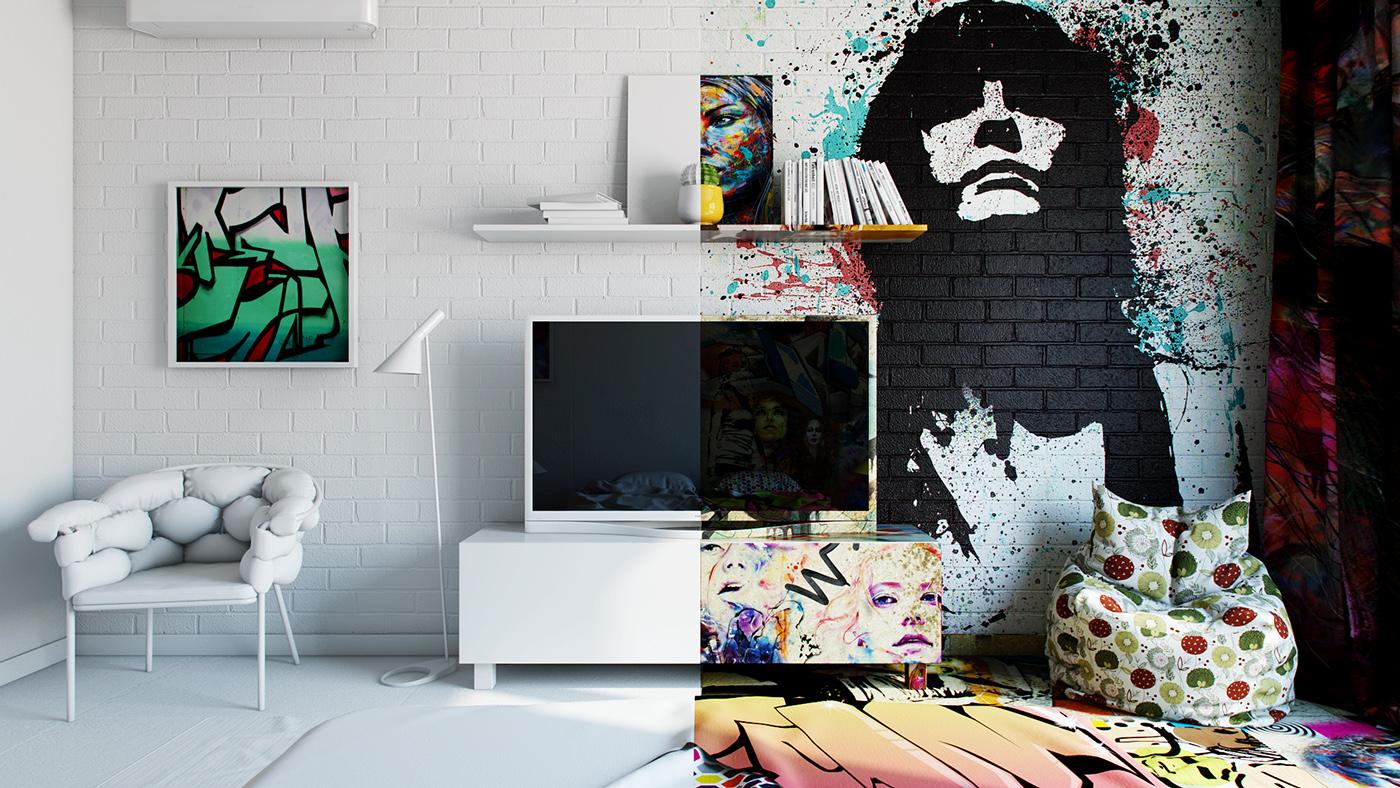Amazing Interior Design Illustrations by Pavel Vetrov - the vandallist (1)