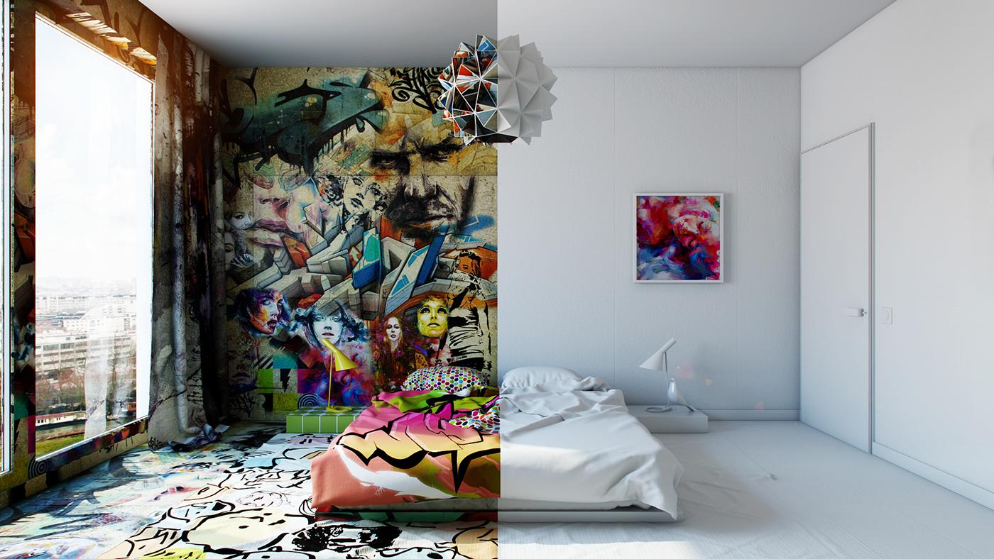Amazing Interior Design Illustrations by Pavel Vetrov - the vandallist (3)