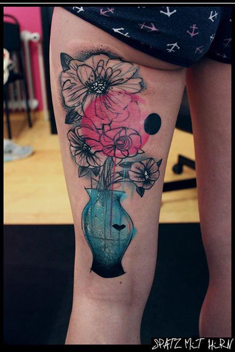 Spatz mit Hirn Tattoo - thevandallist (18)