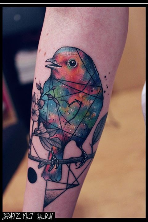 Spatz mit Hirn Tattoo - thevandallist (19)