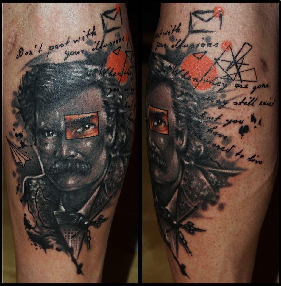 Spatz mit Hirn Tattoo - thevandallist (2)