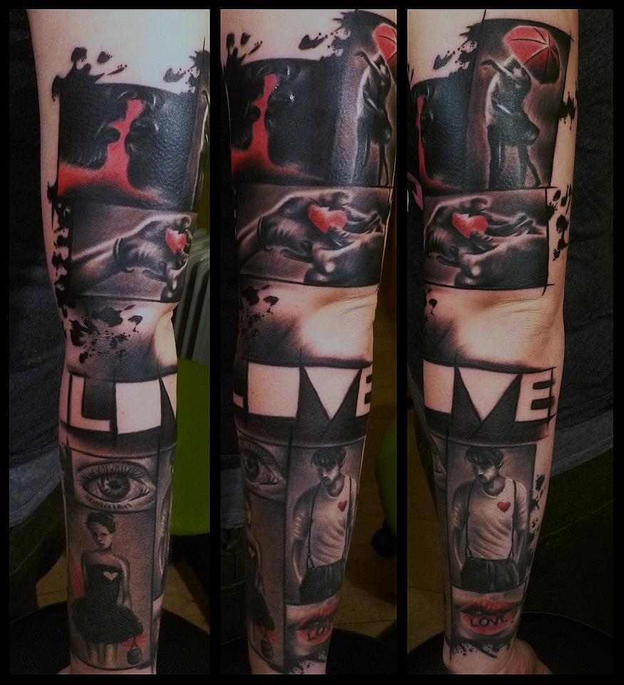 Spatz mit Hirn Tattoo - thevandallist (3)
