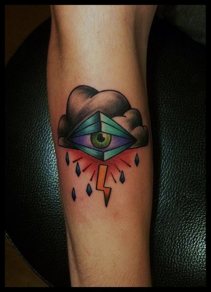 Spatz mit Hirn Tattoo - thevandallist (8)