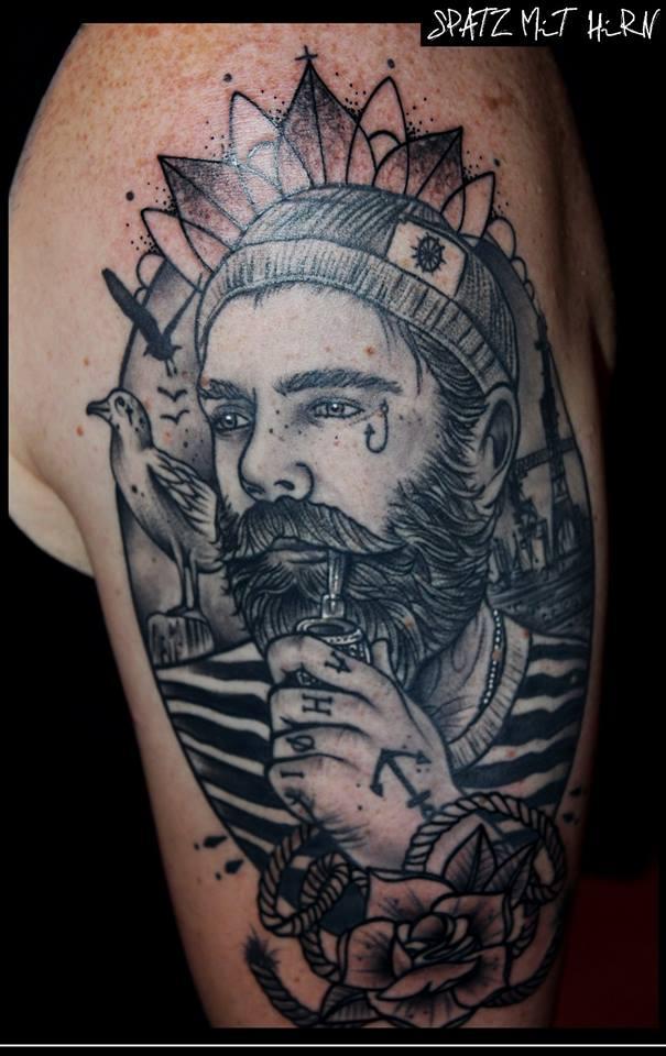 Spatz mit Hirn Tattoo - thevandallist (9)