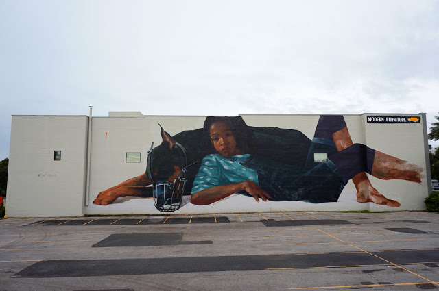 Evoca1 paints a new mural in Saint Petersburg, Florida - THE VANDALLIST (2)