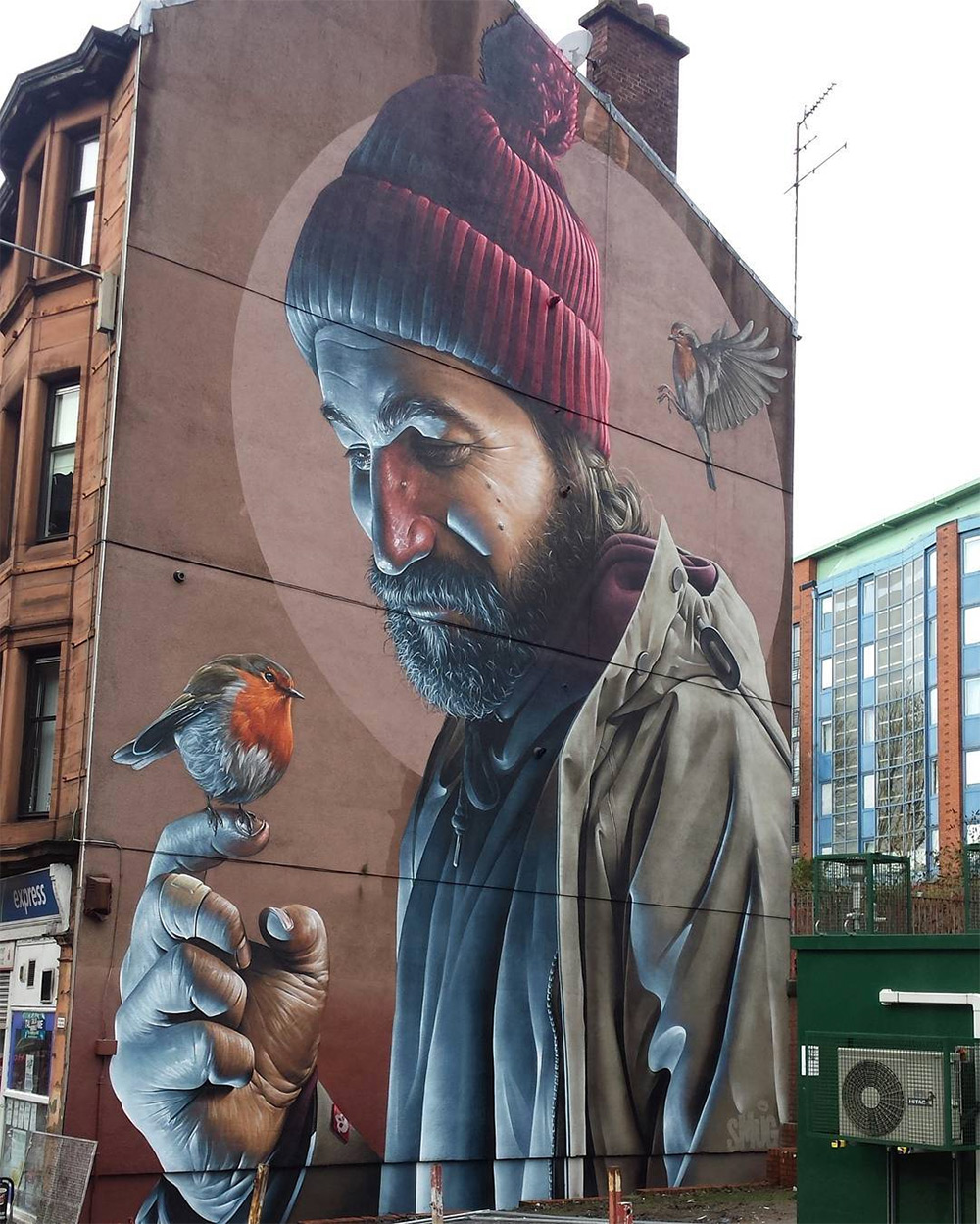 Mural by 'Smug' in Glasgow - thevandallist (1)