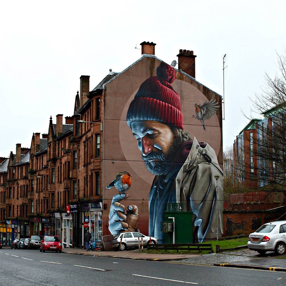 Mural by 'Smug' in Glasgow - thevandallist (2)