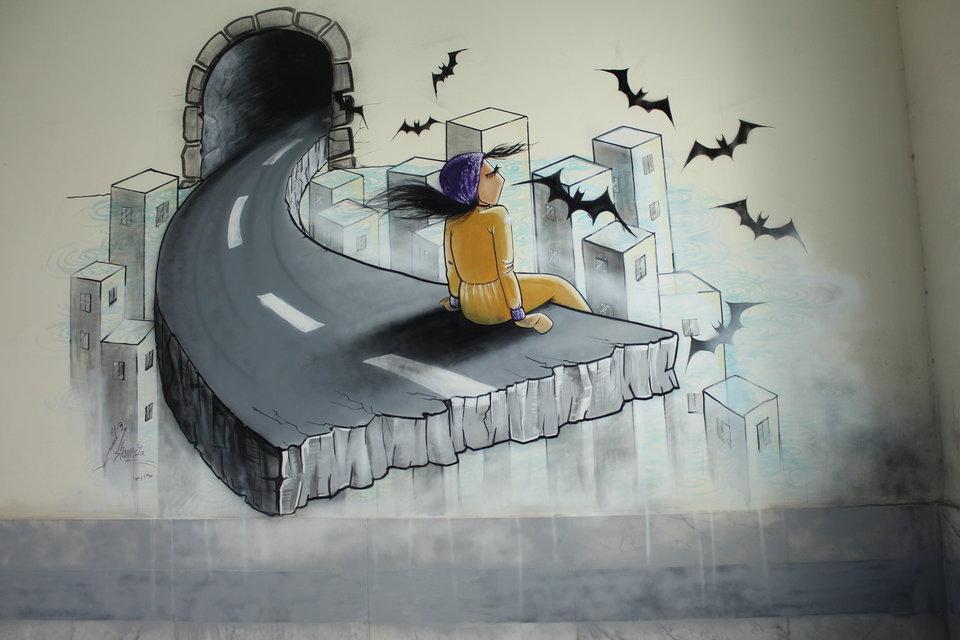 Afghanistan's First Female Street Artist - THE VANDALLIST (13)