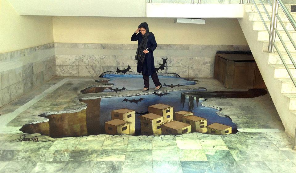 Afghanistan's First Female Street Artist - THE VANDALLIST (14)