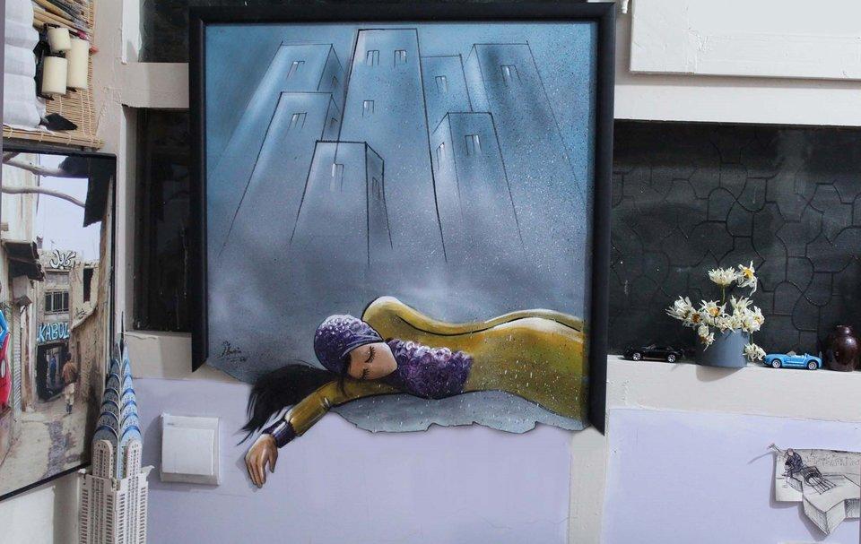 Afghanistan's First Female Street Artist - THE VANDALLIST (2)
