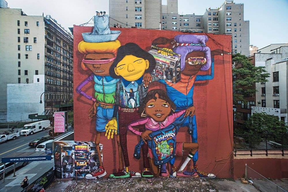 """Rock on to the break of dawn"""" by Os Gemeos – The VandalList"""