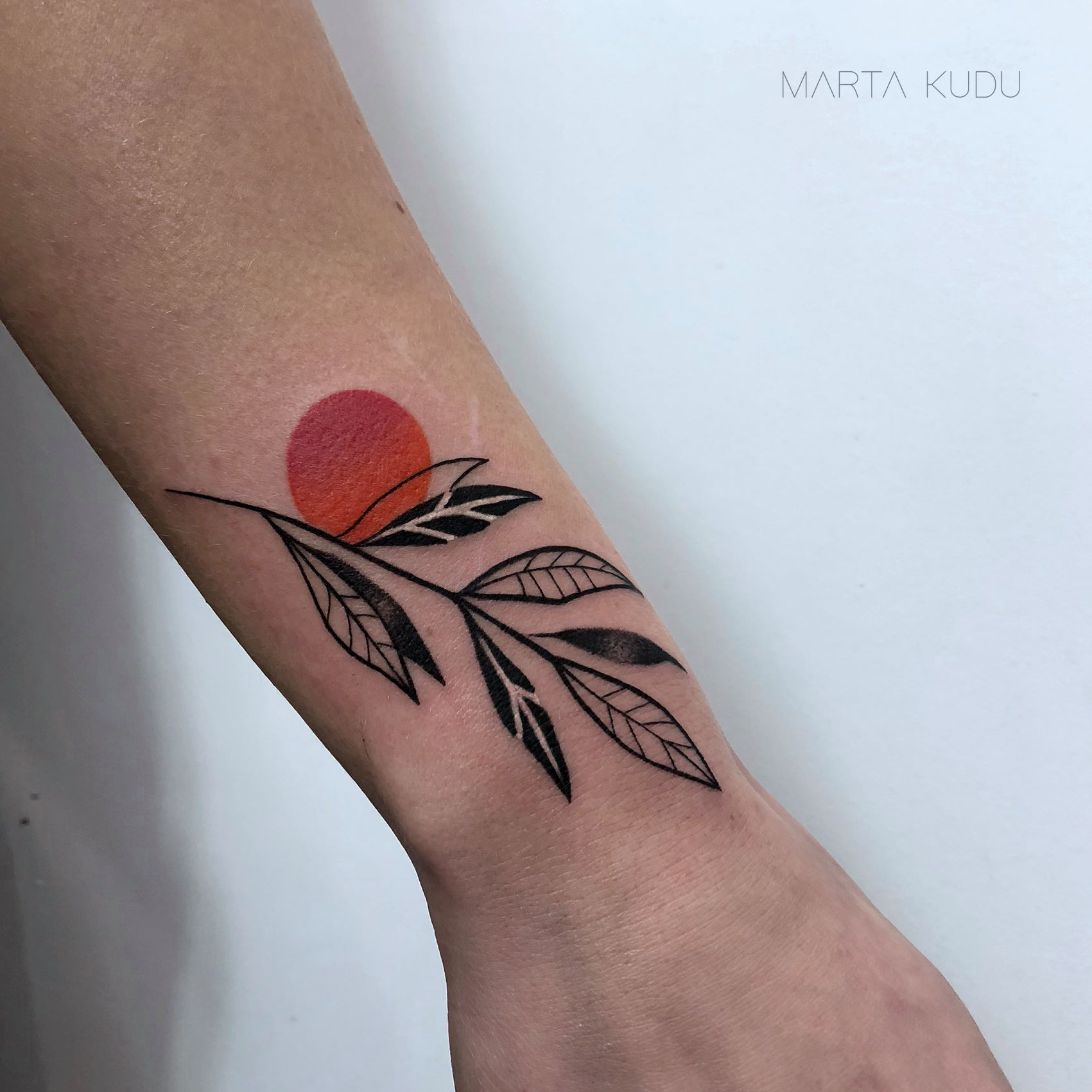 Marta Kudu - tattooer