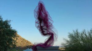 Benjamin Shine Sky Flow Sculpture 'Quietude'